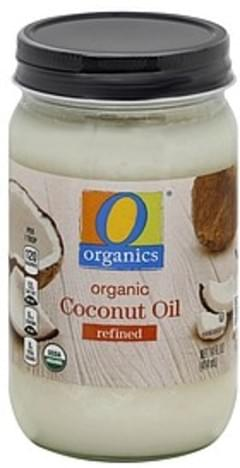 O Organics Coconut Oil Organic, Refined