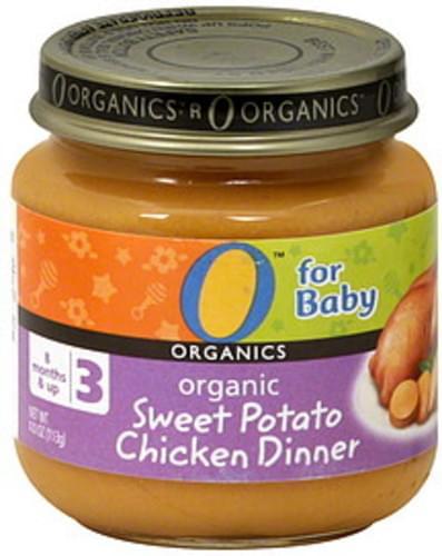O Organics Organic Sweet Potato Chicken Dinner - 4 oz