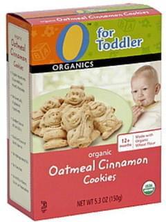 O Organics Organic Cookies Oatmeal Cinnamon