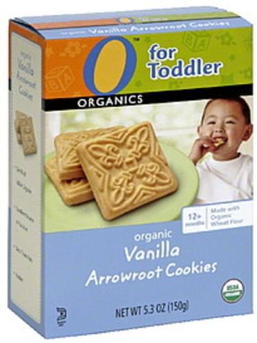 O Organics Vanilla Organic Arrowroot Cookies - 5.3 oz