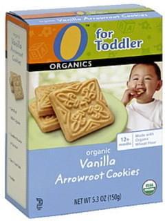 O Organics Organic Arrowroot Cookies Vanilla