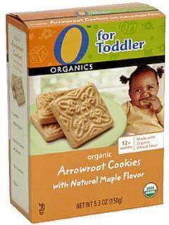 O Organics Organic Arrowroot Cookies with Natural Maple Flavor