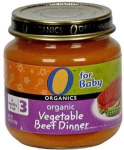 O Organics Organic Vegetable Beef Dinner