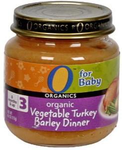 O Organics Organic Vegetable Turkey Barley Dinner