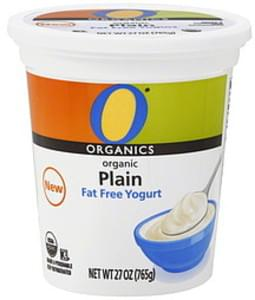 O Organics Yogurt Fat Free, Organic, Plain