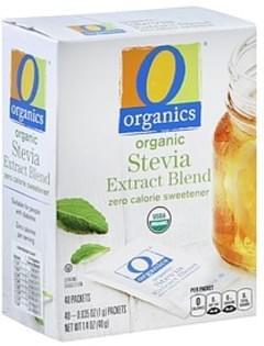 O Organics Stevia Extract Blend Organic