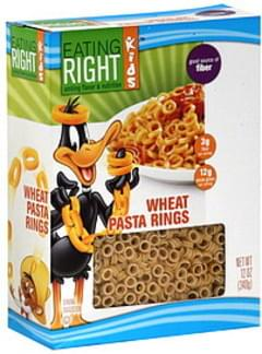 Eating Right Pasta Rings Wheat