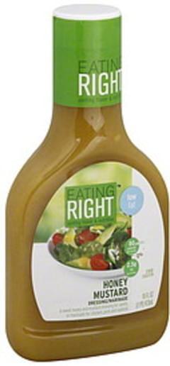 Eating Right Dressing/Marinade Honey Mustard