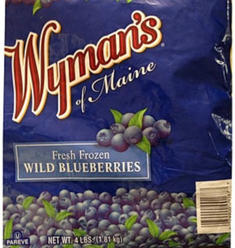 Wyman's Of Maine Frozen Wild Blueberries - 140 g