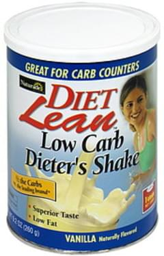 Diet Lean Low Carb Dieter's Shake Vanilla