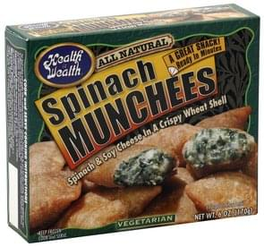 Health is Wealth Spinach Munchees