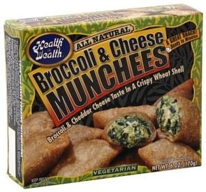 Health is Wealth Broccoli & Cheese Munchees