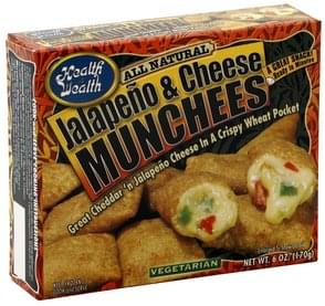 Health is Wealth Jalapeno & Cheese Munchees