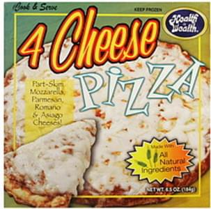 Health is Wealth Pizza 4 Cheese Pizza