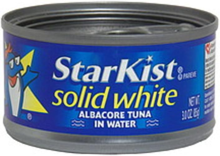 StarKist Solid White Albacore, in Water