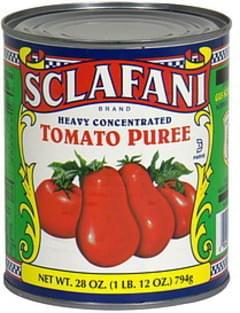 Sclafani Tomato Puree Heavy Concentrated