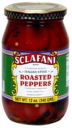 Sclafani Roasted Peppers Italian Style