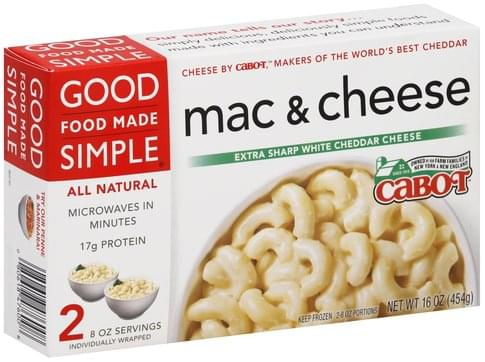Good Food Made Simple Extra Sharp White Cheddar Cheese Mac
