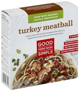 Good Food Made Simple Meatball Turkey