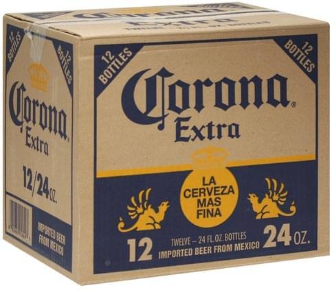 Corona Beer - 12 ea, Nutrition