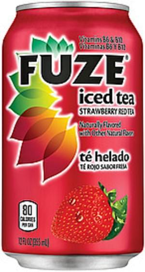 Fuze Strawberry Red Tea Iced Tea - 12