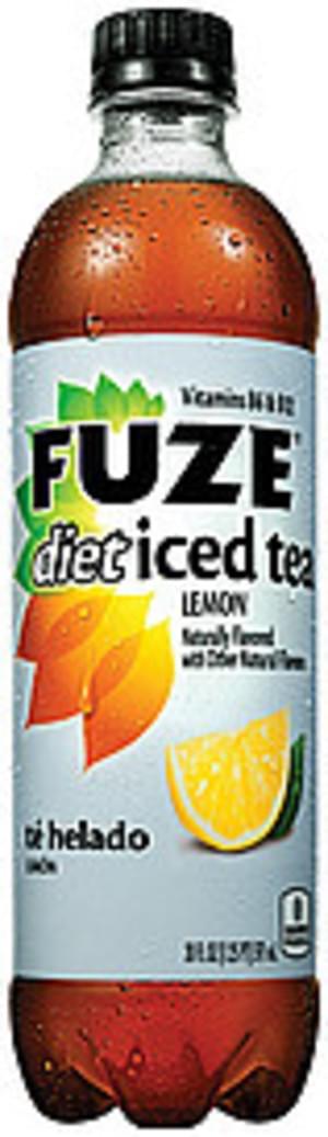 Fuze Diet Lemon Iced Tea - 20 oz