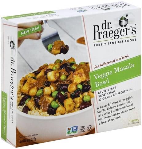 Dr Praegers Veggie Masala Bowl - 8 oz