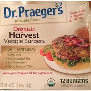 Dr. Praeger's Harvest Veggie Burgers