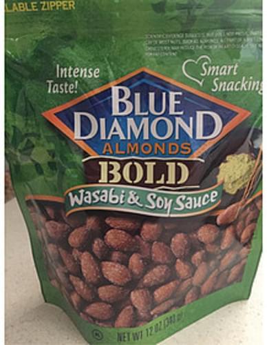 Blue Diamond Almonds Wasabi & Soy Sauce