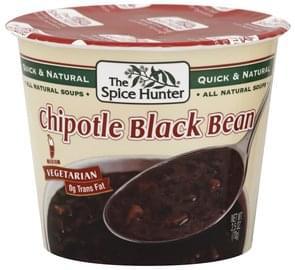 Spice Hunter Soup Chipotle Black Bean, Medium