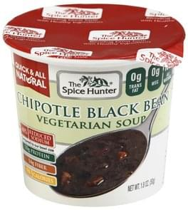 Spice Hunter Soup Vegetarian, Chipotle Black Bean