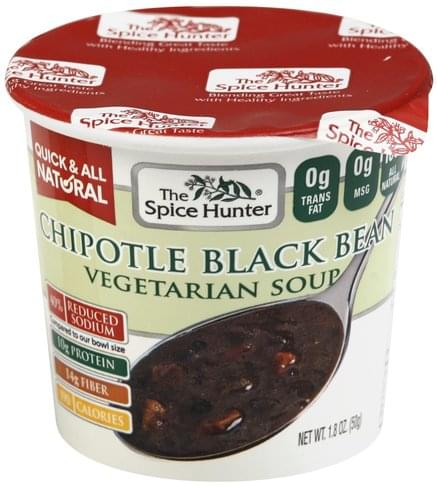 Spice Hunter Vegetarian, Chipotle Black Bean Soup - 1.8 oz