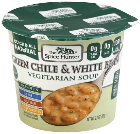Spice Hunter Vegetarian, Green Chile & White Bean Soup - 2.2 oz