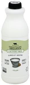 Green Valley Organics Kefir Lactose Free, Lowfat, Organic, Plain