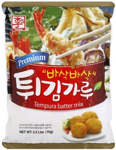Yissine Premium Tempura Batter Mix - 2.2 lb