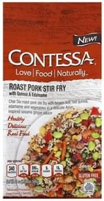 Contessa Roast Pork Stir Fry with Quinoa & Edamame