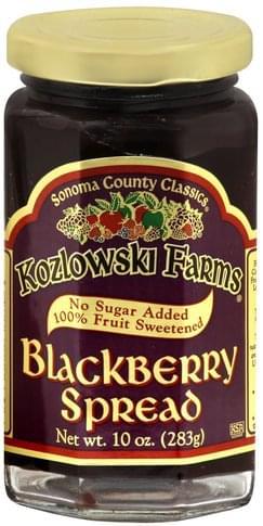 Kozlowski Farms Blackberry Spread - 10 oz