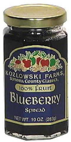 Kozlowski Farms Blueberry Spread