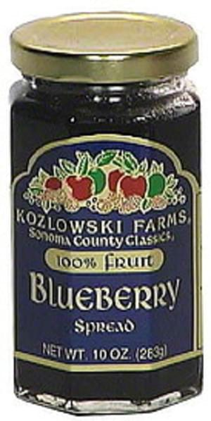 Kozlowski Farms Blueberry Spread - 10 oz