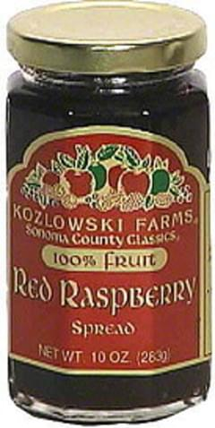 Kozlowski Farms Red Raspberry Spread