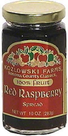 Kozlowski Farms Red Raspberry Spread