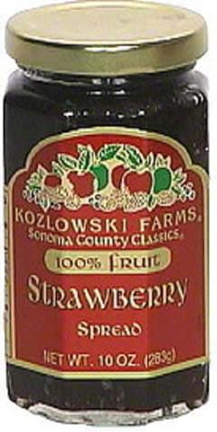 Kozlowski Farms Strawberry Spread