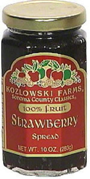 Kozlowski Farms Strawberry Spread - 10 oz