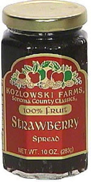 Kozlowski Farms Strawberry Spread - 10 oz