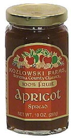 Kozlowski Farms Apricot Spread