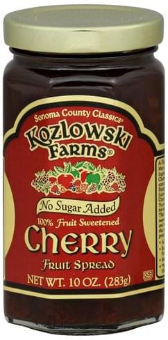 Kozlowski Farms Cherry Fruit Spread - 10 oz