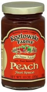 Kozlowski Farms Fruit Spread Peach