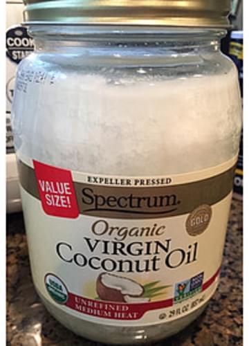 Spectrum Organic Virgin Coconut Oil - 14 g