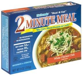NuTrends 2 Minute Meal White Chicken Chili with Beans
