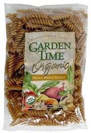 Garden Time Spirals Whole Wheat